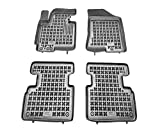 Rezaw-Plast Alfombrillas de Goma Compatible con KIA SPORTAGE III (2010-2015) + Limpiador de Plasticos (Regalo) | Accesorios Coche Alfombrilla Suelo