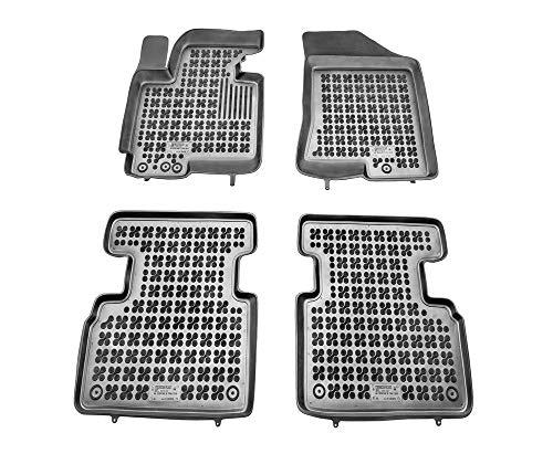 Alfombrillas de Goma Compatible con KIA SPORTAGE III (2010-2015) + Limpiador de Plasticos (Regalo)   Accesorios Coche Alfombrilla Suelo