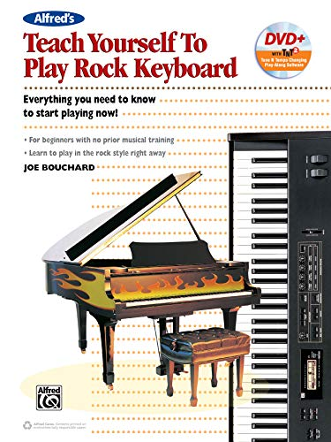 Alfred's Teach Yourself to Play Rock Keyboard - Everything You Need to Know to Start Playing Now! (incl. DVD)