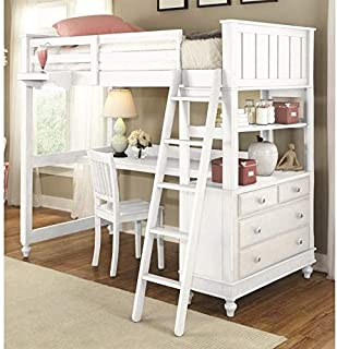 Best lake house loft bed with desk Reviews