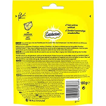 Catisfactions Maxi Friandises pour chat au Fromage Maxi Pack -Pack de 4
