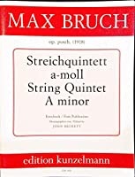 Bruch String Quintet(2Vn2VaVc) 1918, Score and Parts