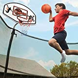 Trampoline Basketball Hoop with Inflatable...