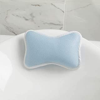 YXHMdd Bathtub Pillow with 2 Suction Cups, Fits All Bathtub, Hot Tub, Helps Support Head, Back, Shoulder and Neck