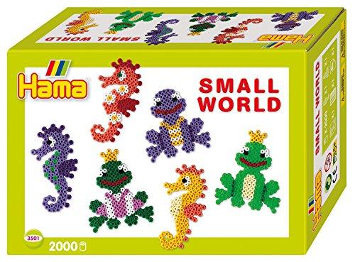 Hama 6373501 Kit de Manualidades para niños - Kits de Manualidades para niños (Pelotas, Plantilla, Niño/niña, Multicolor)
