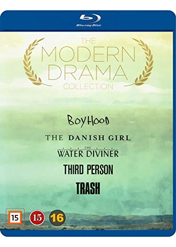 Modern Drama Collection 5-Disc Set ( Boyhood / The Danish Girl / The Water Diviner / Third Person / Trash ) (Blu-Ray)