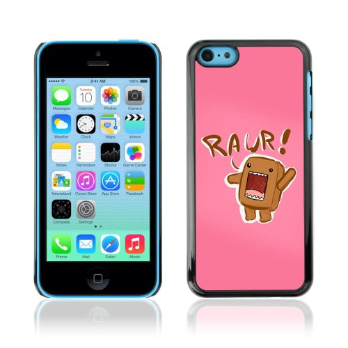 CelebrityCase Polycarbonate Hard Back Case Cover for Apple iPhone 5C ( Raur Cute Pink )