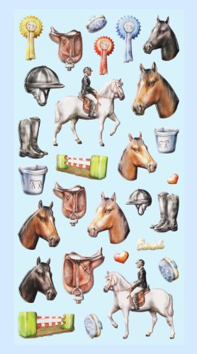 Creapop Sticker Softysticker * Reiten - Pferd - Pferde * Aufkleber