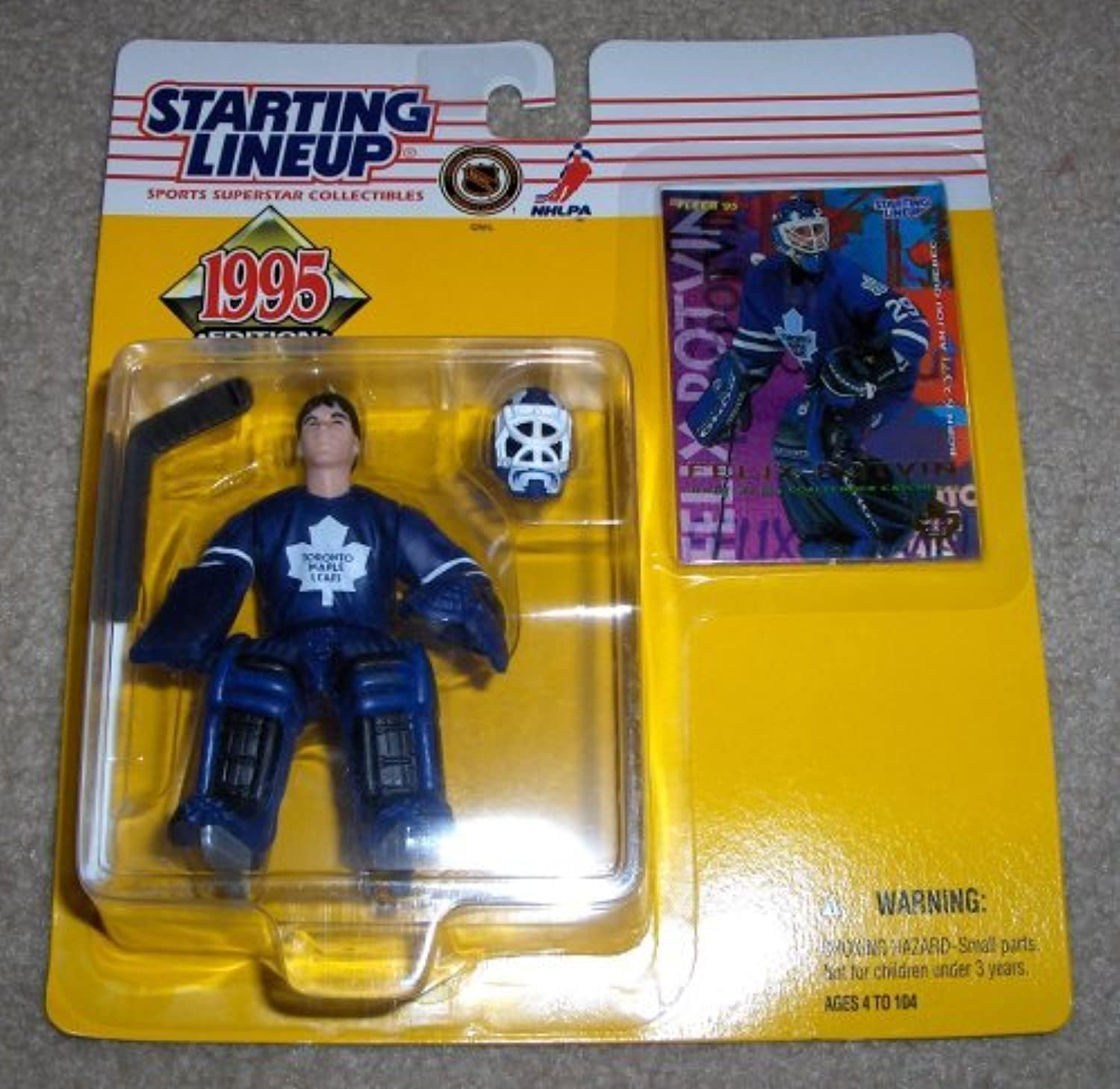1995 Felix Potvin NHL Starting Lineup Figure by Starting Line Up