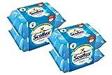 Scottex Fresh Papel Higiénico Húmedo - Pack de 4 x 74 servicios
