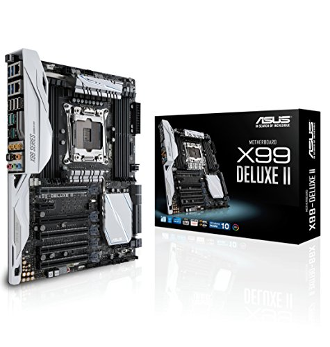ASUS LGA2011-v3 5-Way Optimization SafeSlot X99 ATX Motherboard X99-DELUXE II