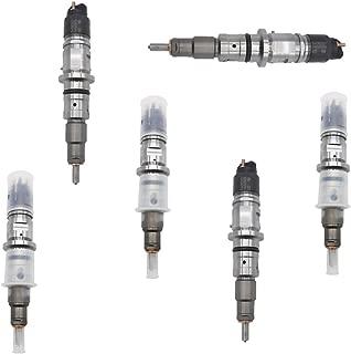 Set (6) Diesel Injector 0445120050 Fits CUMMINS Dodge Ram 2500/3500 6.7L Pickup 4X4