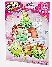 Christmas Holiday Advent Kids Children Countdown Calendar With 24 Milk Chocolates! Choose From Various Designs! Fun & Tasty! 1.76oz Calendar! (Shopkins)