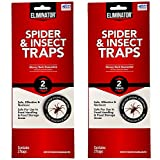 Eliminator - Spider and Insect Traps - Set of 4...