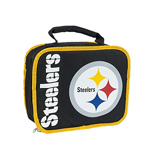 NFL Pittsburgh Steelers 'Sacked' Lunch Kit, 10.5' x 8.5' x 4'