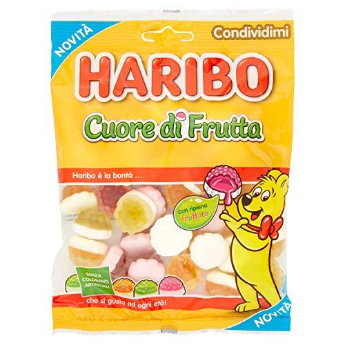 Haribo Cuore di Frutta Caramelle Morbide Gommose, 175g