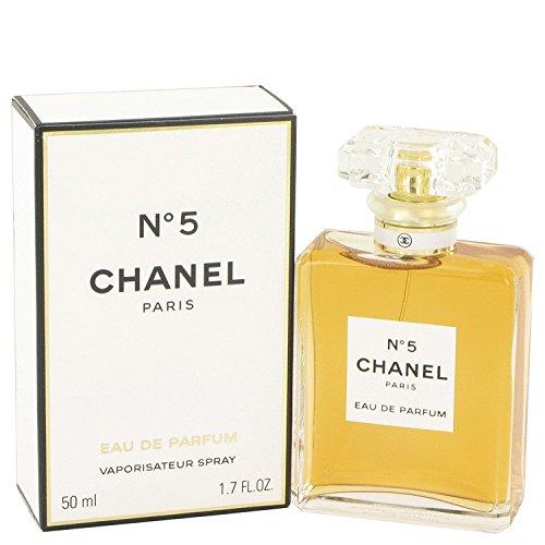 Chanel # 5por Chanel Eau de Perfume Spray 1,7Oz 50ml para mujer