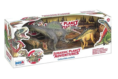 Great Deal! Rstoys 3.ST9680 Supe Ronchi - Jurassic Dinosaur Series, Large, 3 Pieces, Multi-Colour