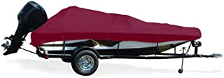 TAYLOR MADE PRODUCTS Trailerite Semi-Custom Boat Cover for Angled Transom Bass Fishing Boats with Outboard Motors