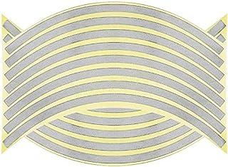 Adesivo 3D a motivo scorpione SKS Distribution/® per auto cromato in argento
