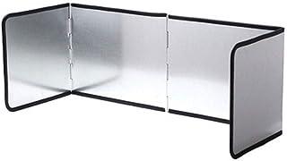 Stove Windscreen 4-Sided Splatter Shield Guard for Cooking, Grease Splatter Screen, Anti-Splashing Oil Baffle Heat Insulat...
