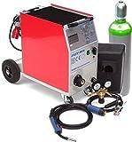 MIG MAG 250AM Schutzgasschweißgerät Schweißgerät + 20L Gasflasche + 15kg Draht
