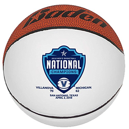 Great Deal! Villanova Wildcats 2018 NCAA National Champions Baden Autograph Basketball 29.5