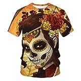 Horror Movie It Penny Wise Clown Joker Camiseta con Estampado 3D Hombres/Mujeres Hip Hop Streetwear...
