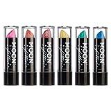 Moon Glitter - Rossetto glitterato iridescente - 5g - Set di 6 colori
