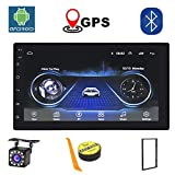 Android Car Stereo Bluetooth Internet Multimedia 2 Din 7 Inch Car Radio GPS Navigation 1G/16G Android Auto HD...