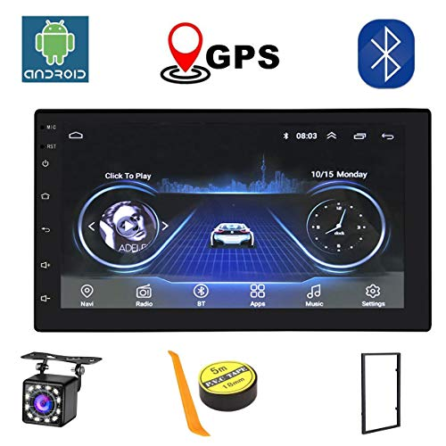 Android Radio 2 Din Coche Bluetooth GPS...
