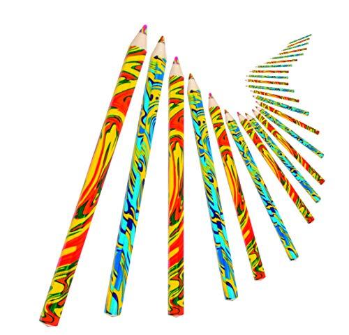 Beleduc 52020 - Regenbogen-Stifte, 24er Set, Buntstifte, Bastelspaß