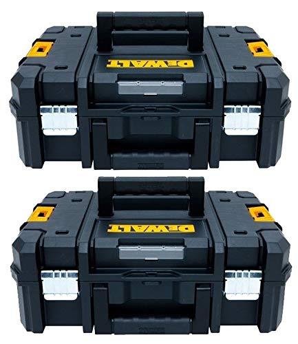 Dewalt DWST1-70703 TStak II Power Tool Storage Box 13.5L T-STAK Case - Twin Pack
