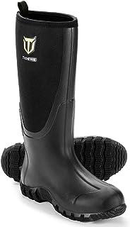 Rubber Boots for Men Multi-Season, Waterproof Muck Rain...