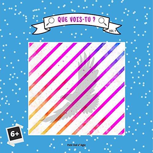 Couverture du livre Que vois-tu ? VOLUME 1: Testez la vision de votre enfant avec ce jeu d'images (animaux, chiffres, objets...)