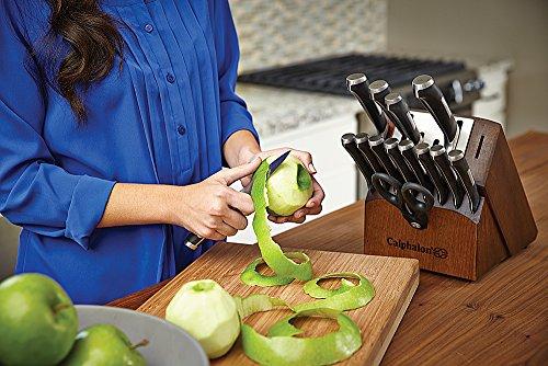 Calphalon Precision Self-sharpening 15-piece Knife Block Set, with SharpIn Technology