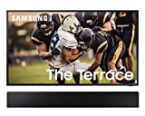 Samsung QN65LST7TA The Terrace 65' Outdoor-Optimized QLED 4K UHD Smart TV with a Samsung HW-LST70T 3.0 Channel The Terrace Soundbar with Dolby 5.1 Ch (2020)