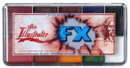 Skin Illustrator FX makeup palette Premiere Products Alcool attivato