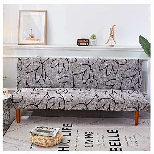 DaiHan Vier Jahreszeiten Sofabezug All-Inclusive-Universal-Set Moderne Stretch-Sofabezug Sofakissen Wohnzimmer Kombination Sofabezug AsPic11 4Seat(235-300cm)