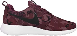 Men's Rosherun Print , VILLAIN RED/BLACK-TEAM RED-LIGHT MULBERRY/CAMO, 11.5 M US