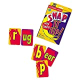 Learning Resources Snap It Up! Phonics & Reading Card Game, Homeschool, Reading Game, 90 Cards Included, Ages 6+