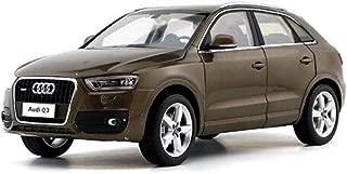 GCM 1:18 Audi Q3 Car Model Ornaments Simulation Car Model Ornaments Children's Alloy Toy Car Boy Sports Car ( Color : Brown )