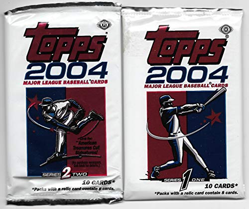 2004 Topps Baseball Complete 733 Card Set In Sheets & Binders PLUS