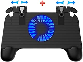 Simple Mobile Game Controller, Cell Phone Game Triggers Sensitive Aim Keys,Game Trigger Joystick Gamepad Grip for 4.7-6.5 ...