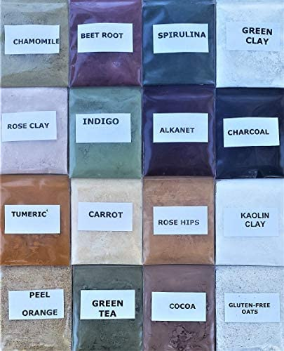 Natural Soap Making Colorant Set Dye Pigment Powder Soap Supplies Sampler Kit Variety Pack for product image