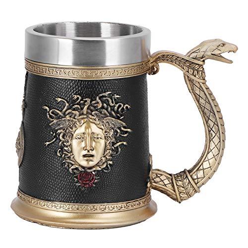 Tazas de cerveza de acero inoxidable para hombres, taza de cerveza vintage, taza de café, taza de whisky, novedad, taza para beber, regalos de cerveza