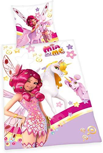Mia and Me Bettwäsche Herding Einhorn Elfen Yuko Prinz Mo 135 x 200 cm NEU Wow - All-In-One-Outlet-24 -