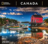 National Geographic Canada 2020 Wall Calendar (English and French Edition)