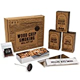 Cooking Gift Set | 6 PC Smoking BBQ Grill Set | Gifts for Him | Gifts for Dads | Unique Gifts for Men