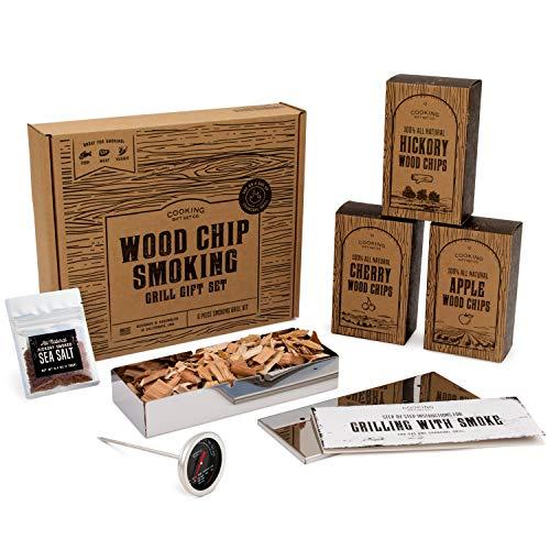 Cooking Gift Set | 6 PC Smoking BBQ Grill Set...